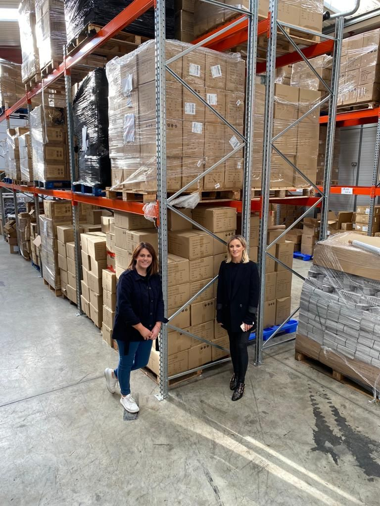 Five Star Fulfilment Owners Suzie O'Neill and Olivia Reilly